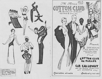 1925 Cotton Club Harlem