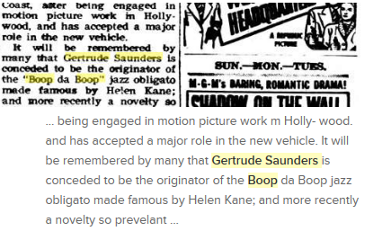 File:Gertrude saunders conceded to be the originator of boop helen kane.png