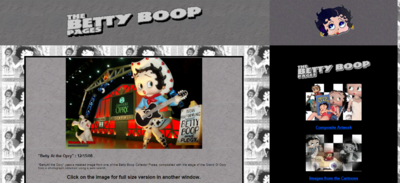 Betty Boop Fan Page Old Mike One