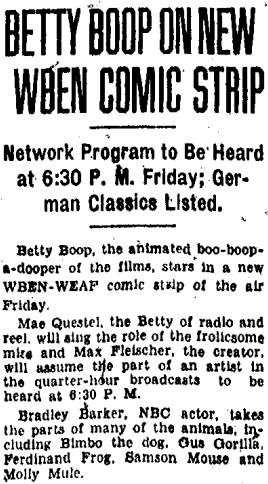 Voice of Bimbo 1933 Bradley Barker