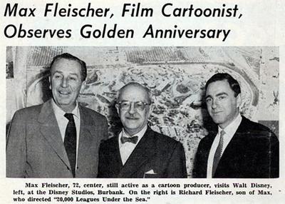 Max Fleischer Meets Walt Disney