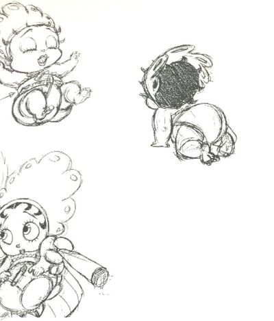 Baby Boop Scrapped Betty Boop MGM