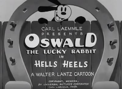 Oswald the lucky rabbit boop boop a doop