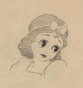 The Original Snow White was to be caricatured on Betty Boop