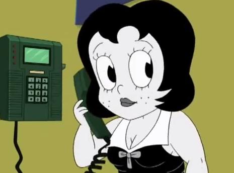 Parody Of Betty Boop 2005