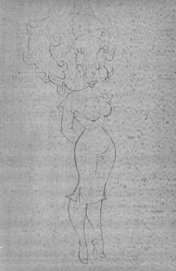 Betty Boop Harvey 1950s Model Capser the Friendly Ghost bettybooplover