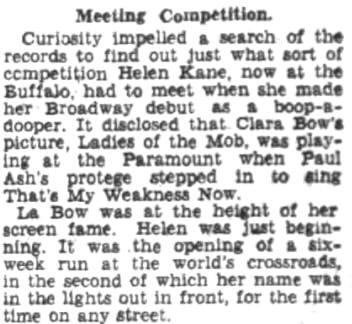 Clara Bow Helen Kane 1932