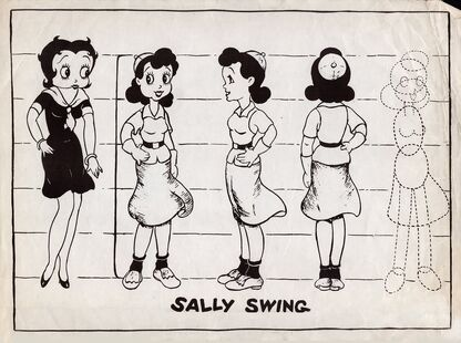Sally Swing Model Sheet