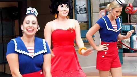 Boop'n Around starring Betty Boop - Universal Studios Singapore