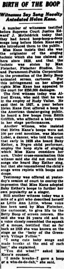 Birth of Boop (1934)