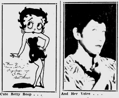Annabel Little and Betty Boop