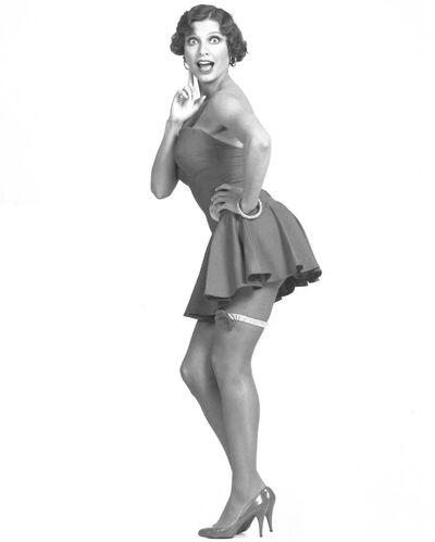 Miss Desiree Goyette as Betty Boop 1980s