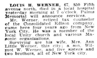 Louis Werner Ann Little 1948 Betty Boop
