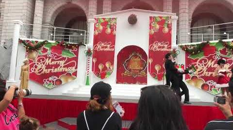 Vlog 17 - USS Hello Kitty Store, Marilyn Monroe and Betty Boop Christmas Perfomance