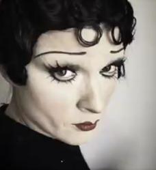 Crystal Renn As Betty Boop