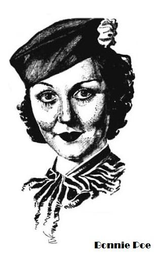 Bonnie Poe aka Clara Rothbart Betty Boop Girl Voice Actress