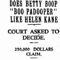 Betty boop helen kane 1