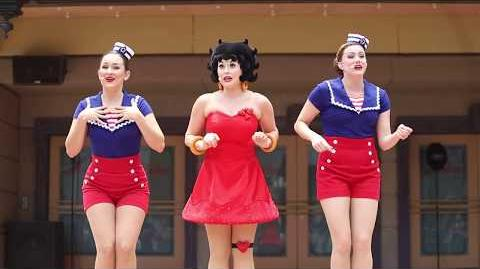 Betty Boop and the Beauties in Boop'n Around