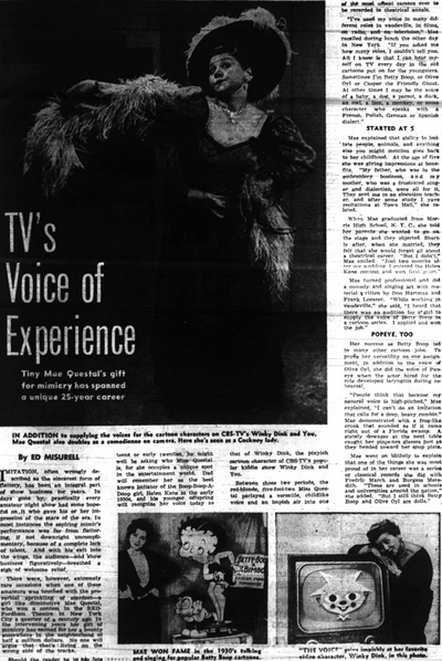 TV's Voice of Experience (1957)