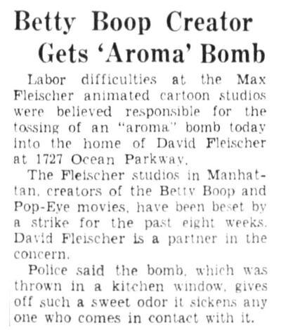 Aroma Bomb 1937