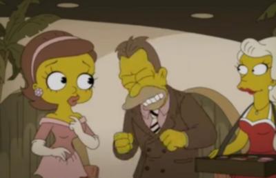 Simpsons mona betty boop 7