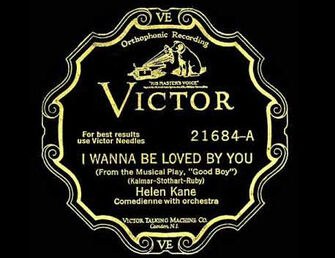 I Wanna Be Loved By You Helen Kane