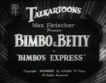 Bimbo's Express | BETTY BOOP Wiki | FANDOM powered by Wikia