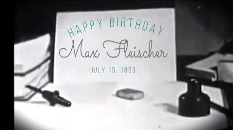 Happy Birthday to Max Fleischer!