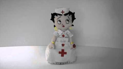 Nurse Betty Boop™ by Chantilly Lane®