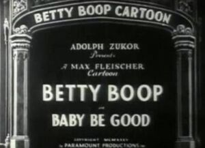 Baby be good