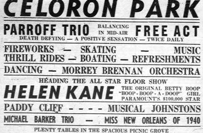 Helen Kane using Betty Boop's Name AGAIN 1942