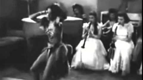 Big Timers 1945 All American Girl Band + Gertie Saunders + Francine Everett (excerpt)