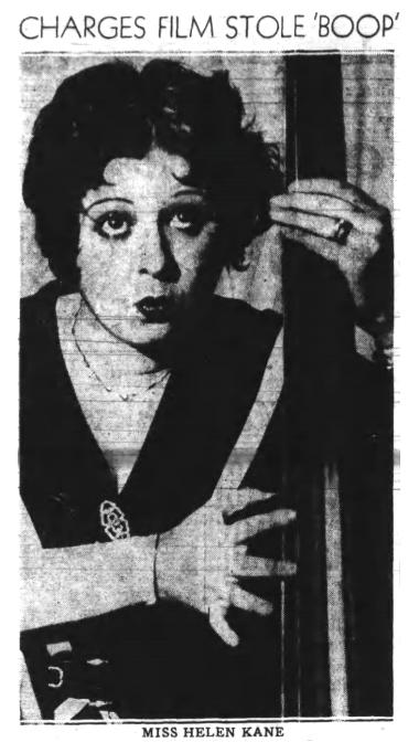 Charges Film Stole Boop 1932 Fleischer Studios