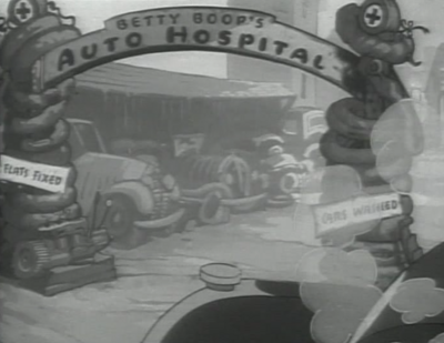 Betty Boop's Automobile Hospital