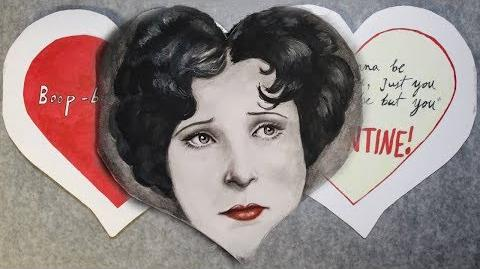 Betty Boop Inspired Valentines Day Card Fast Motion
