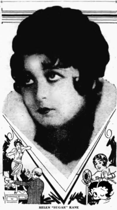 Broadway Sugar Kane in Her Prime 1930 Before Betty Boop Took Over as Queen