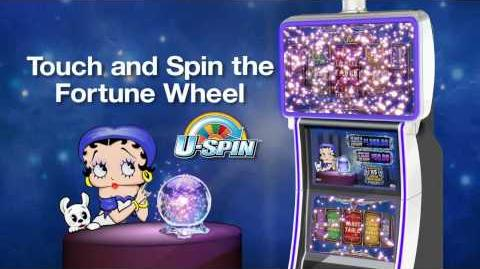Betty Boop's Fortune Teller™ from Bally Technologies