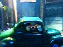 Sam spud green car