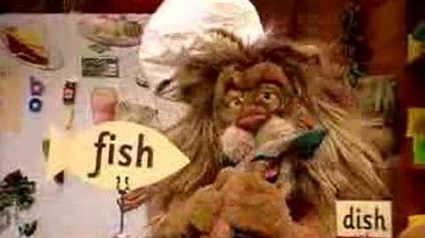 Between the Lions- What's Cooking? - Squished Fish on a Dish
