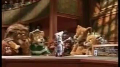 Between the Lions - Bobby the hopping robot