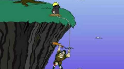 """Between the Lions- """"Cliff Hanger, the Mole, and the Rope"""""""