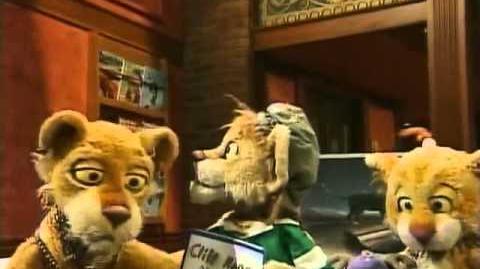 Between The Lions episode 66 Art Party