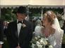 Wedding Jed + Laura posing as Laurette