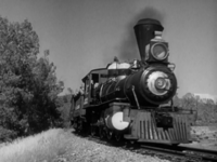 Hooterville Cannonball B&W