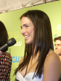 Jessica Lowndes at CW Upfront 2009