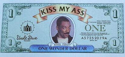 Axel on a Wonder Dollar