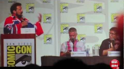 DC Nation Beware The Batman, Young Justice, Green Lantern & Teen Titans Go SDCC 2012 Panel