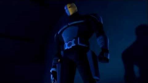 Deathstroke loses his eye -Beware the Batman-1