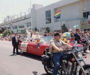 Sargent Montgomery 1992 Pride Parade