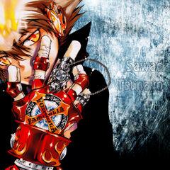 Adi z X-Claws Max i Płomieniem Niebios